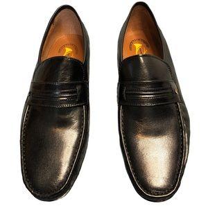 French Shriner Italian men's dress shoes